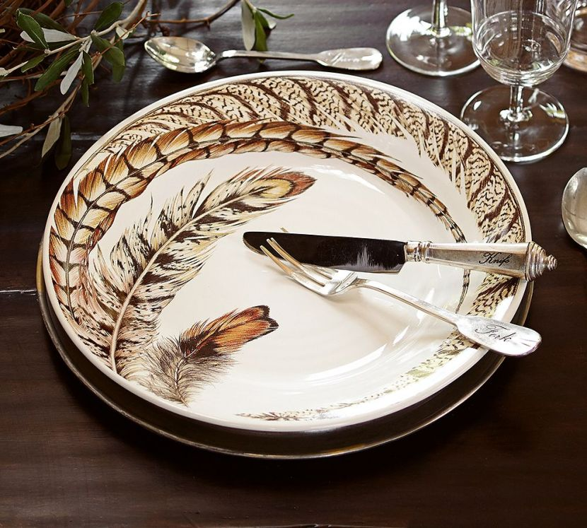 feather plates