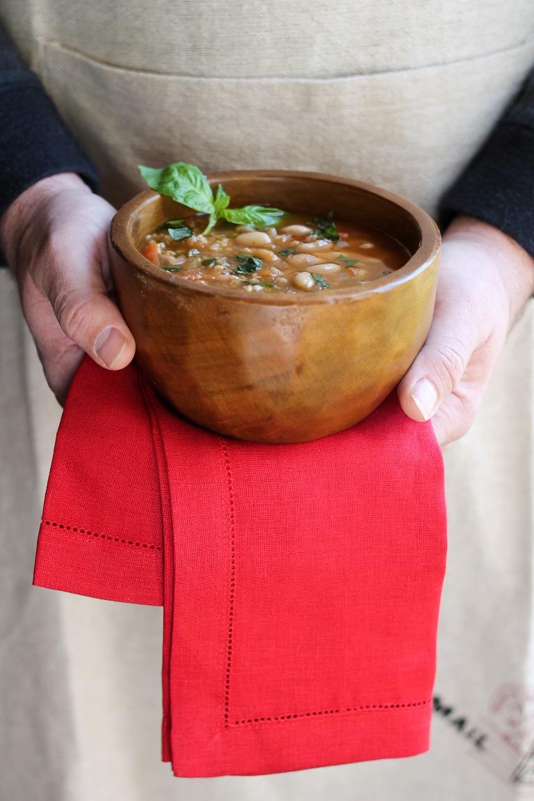 White Bean Tomato Soup 3