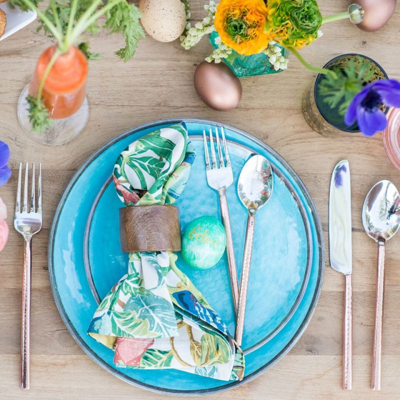 Pottery Barn Easter Table Placement
