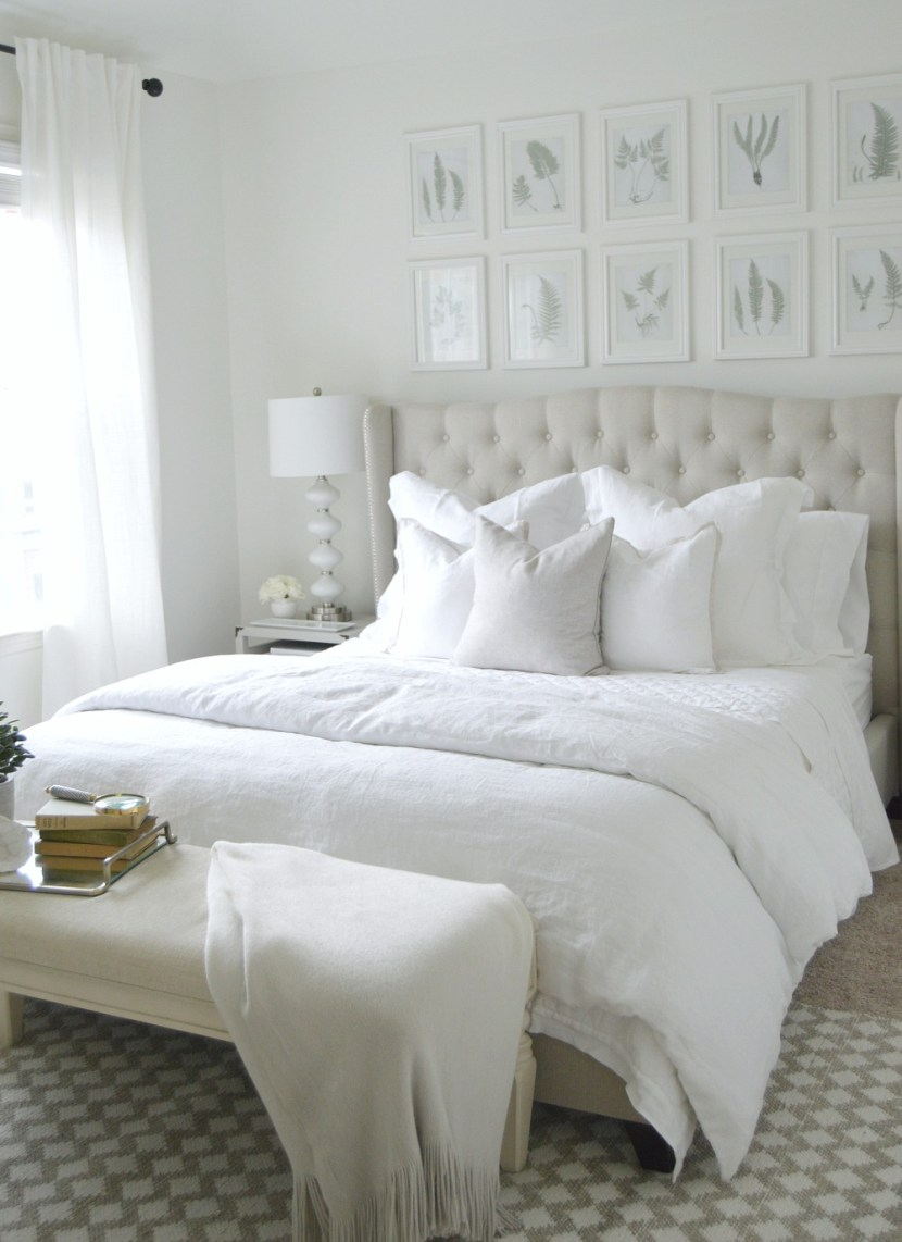 the ultimate white bedroom pottery barn. Black Bedroom Furniture Sets. Home Design Ideas