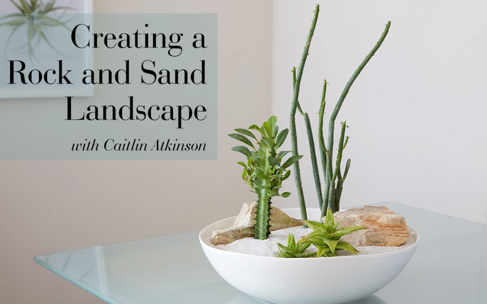 Creating a Rock and Sand Landscape