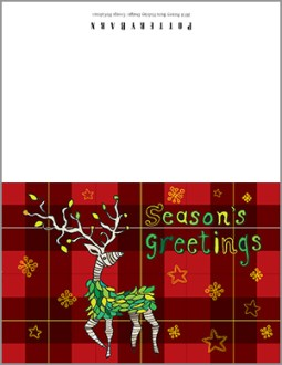 Seasons Greetings: Downloadable Gift Tags & Card by George McCalman