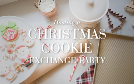 Hosting a Christmas Cookie Exchange Party