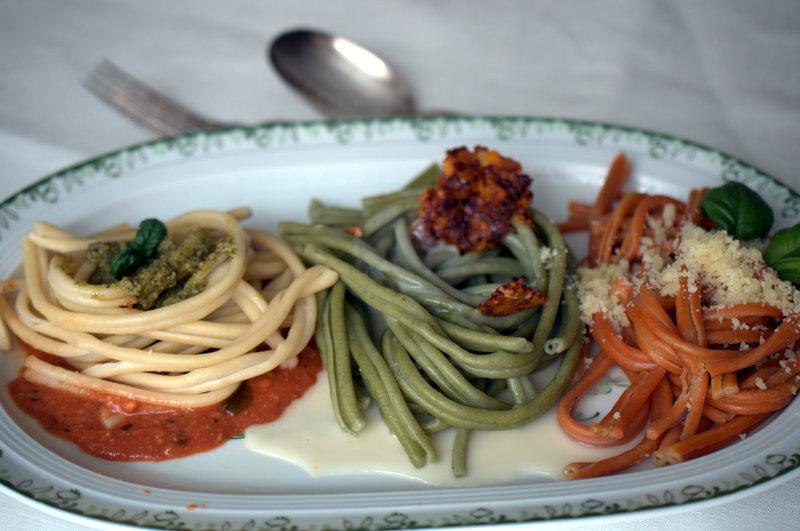 Pasta in Tricolore
