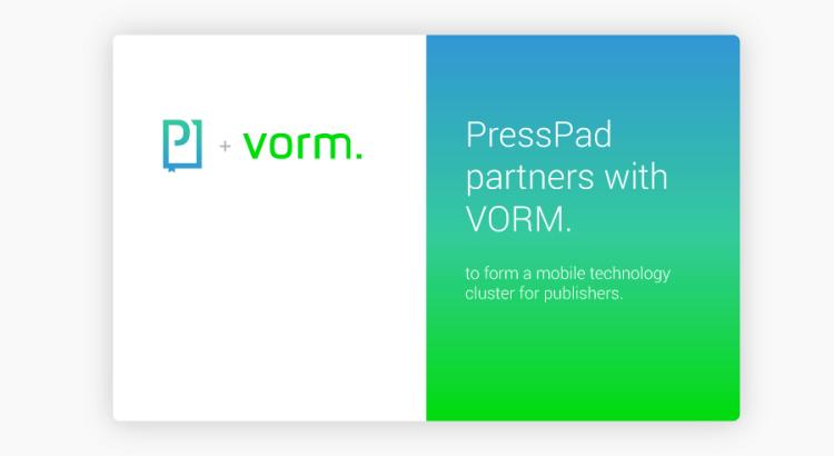 PressPad-VORM_technology-cluster-for-publishers