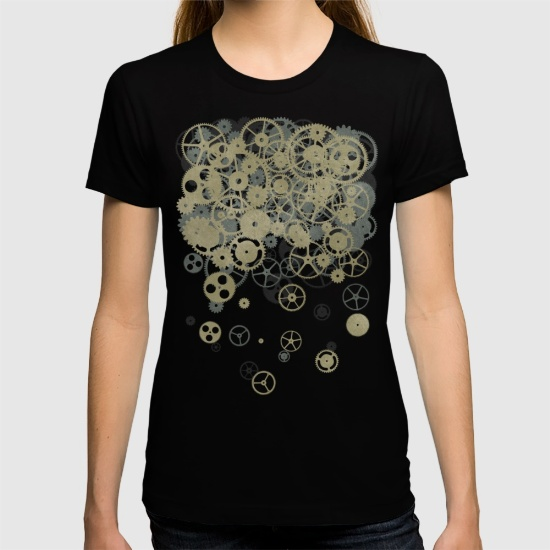 Cogs tshirt front print