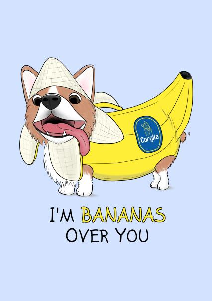 Corgi Banana - Thortful store