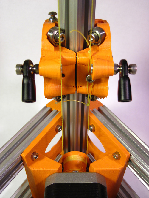 kossel2 Kossel 3D Printer (Rostock 3D Printer) using Openbeam Extrusions