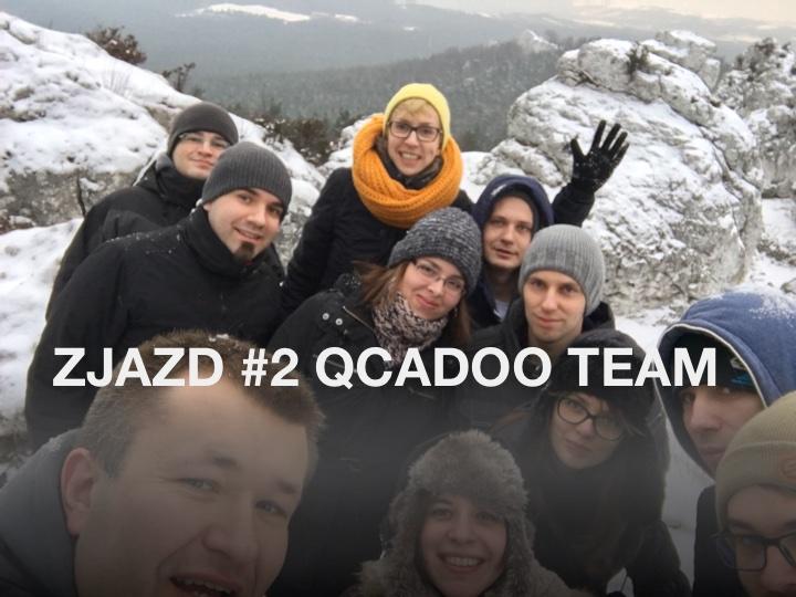 Zjazd Qcadoo Team 2016