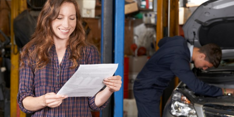 Find new auto repair customers