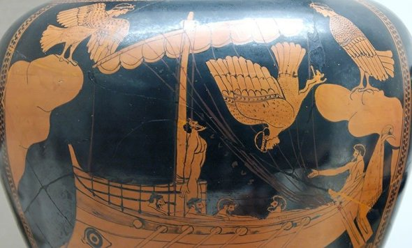 One of the oldest (albeit fictional) examples of a commitment device, Odysseus tied himself to his ship's mast so he wouldn't be entranced by the siren's song.