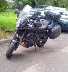 Мой Kawasaki Versys 650.