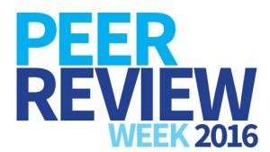 peer review week 2016 close