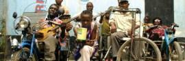 Staff Benda Bilili - dernière répétition à Kinshasa avant Paris