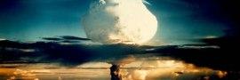 explosion bombe H