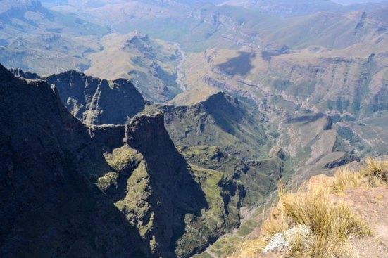 The magnificent Drakensberg