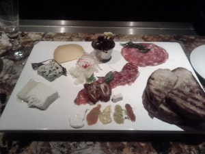 Cheese and Meat board at Fishtag