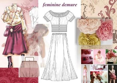 Feminine Demure Fashion