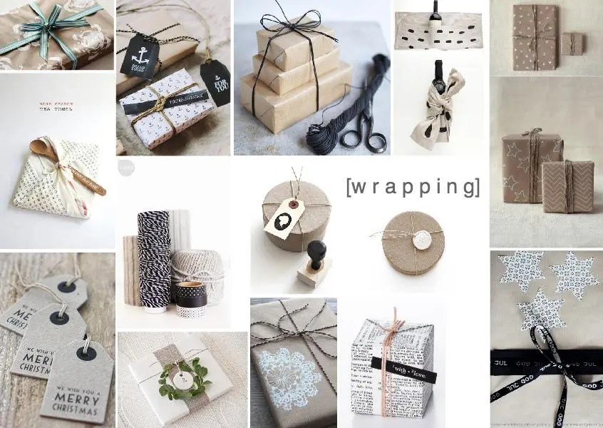 craft wrapping paper