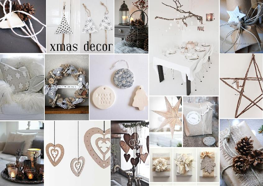 christmas decor interior mood board 1