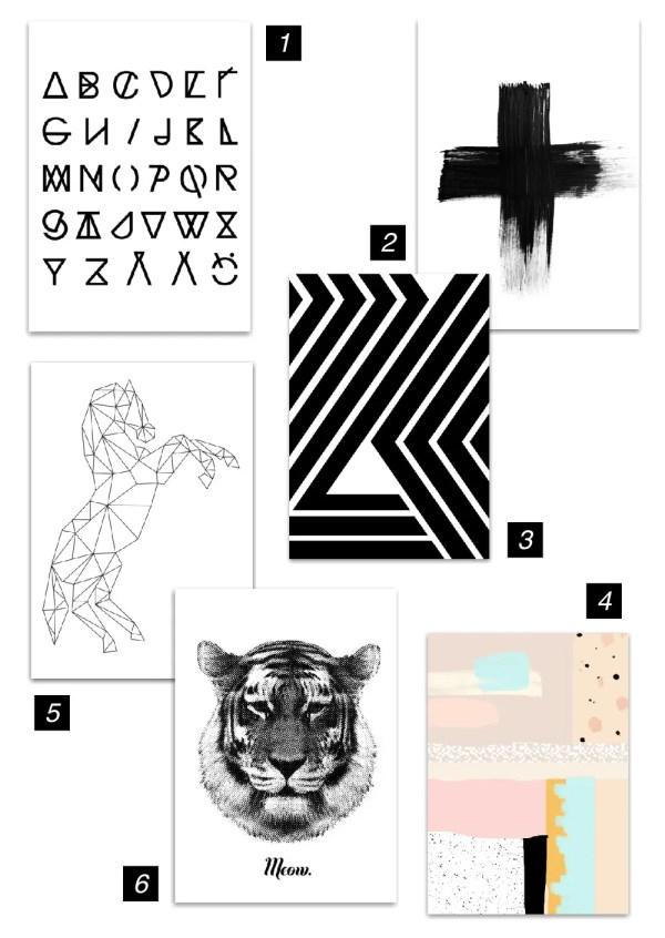 RK Design Art Prints Mood Board