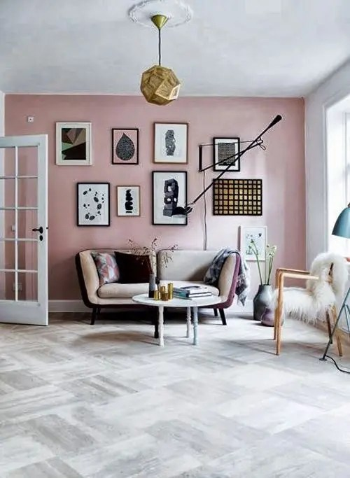 Blush and Copper Interior - SampleBoard Blog
