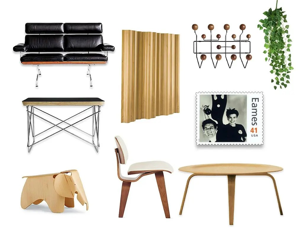Charles and Ray Eames designs