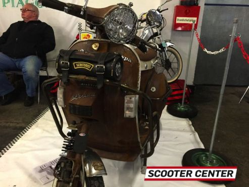 Scooter Center auf der Alpen Customshow 2015 in Innsbruck