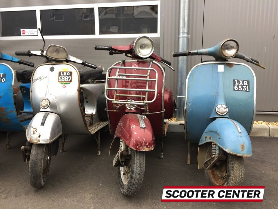 vespa roller zum restaurieren zu verkaufen scooter center blog pure scootering since 1992. Black Bedroom Furniture Sets. Home Design Ideas