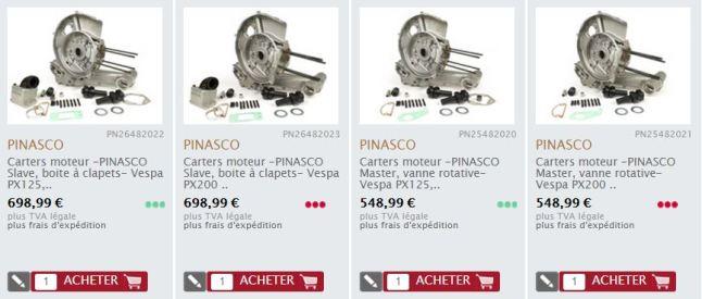 Pinasco Vespa Motorgehäuse