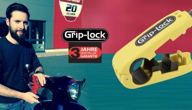 Rollerfahrer Geschenkidee – Grip-Lock das Sicherheitsschloss für Roller