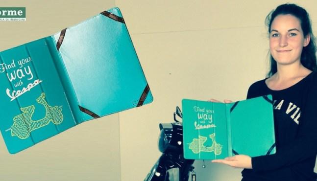 Rollerfahrer Geschenkidee – Vespa iPad-Hülle