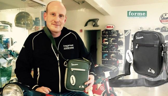 Rollerfahrer Geschenkidee – Vespa Tasche