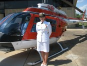 Former Sea Scout Amy Hunt is a Lieutenant Junior Grade (LTjg) in the U.S. Navy. She is a designated Helicopter Pilot currently stationed in Florida.