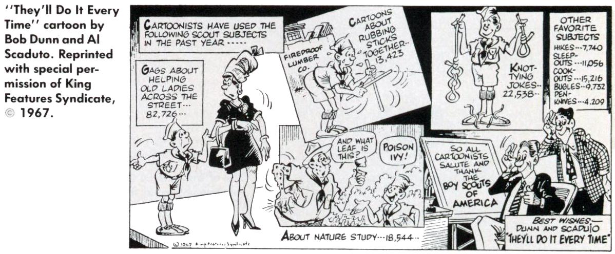 Scouting Cartoon (5 of 12)