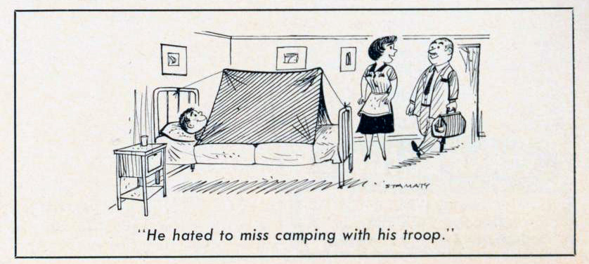 Cartoon-1964-Hotel-Camping