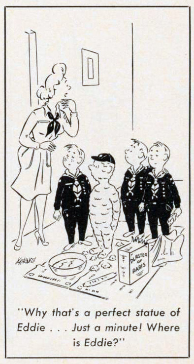 Cartoon-1965-Statue