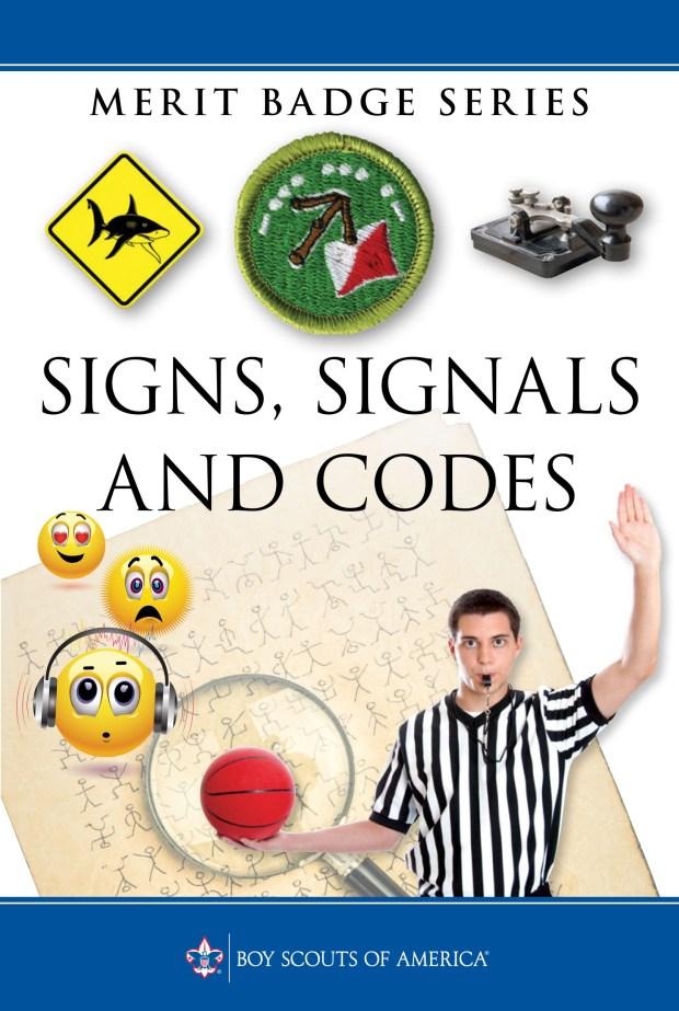 Signaling Merit Badge Codes Merit Badge Cover