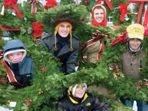 Mickman-wreaths