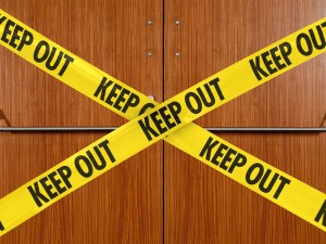 Keep-Out-of-meeting-room
