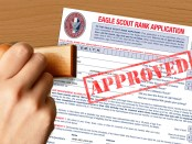 Eagle-Scout-rank-application-approved