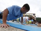 Scout-doing-push-ups