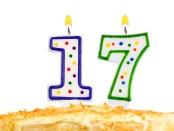 17th-birthday-cake
