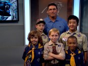 Ron-Rivera-Cub-Scout-recruiting-video