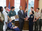 Boy-Scouts-deliver-Report-to-the-Nation-to-President-Obama