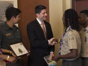 Scouts-present-Report-to-the-Nation-to-Paul-Ryan