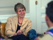 Secretary-Sally-Jewell-with-Boy-Scouts-featured