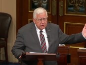 Sen Mike Enzi recognizing BSA charter