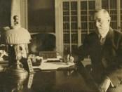 Woodrow Wilson signing