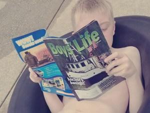 Reading Boys' Life